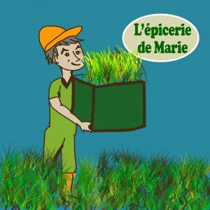 Maraîchage (Agriculture Biologique) Minimum de 10 euros à commander pour les légumes au détail.